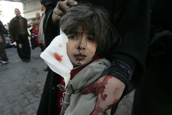 Israeli Air Strike on Gaza Kills Three and Injures More