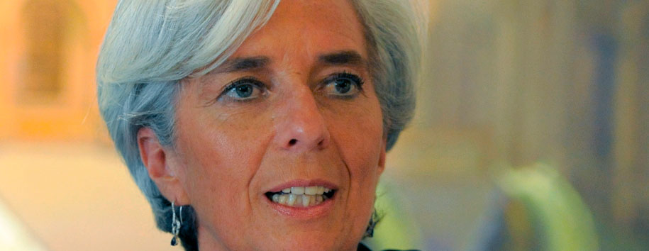 IMF Head Christine Lagarde Visits Nigeria, Praises President Jonanthan's Economic Plan