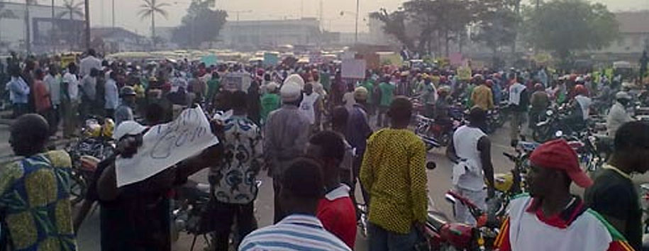 Hoodlums Hijack Protest in Edo State