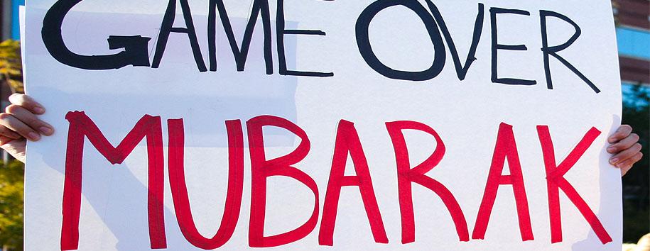 Mubaraks' Back in Court for Trial