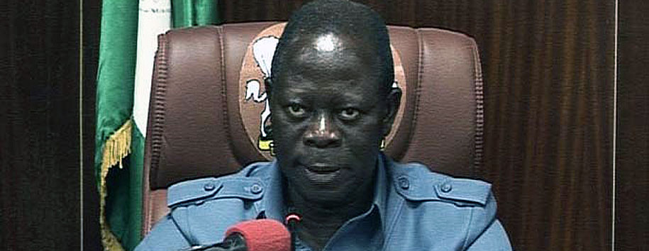Oshiomole Receives PDP Defectors To ACN In Edo State