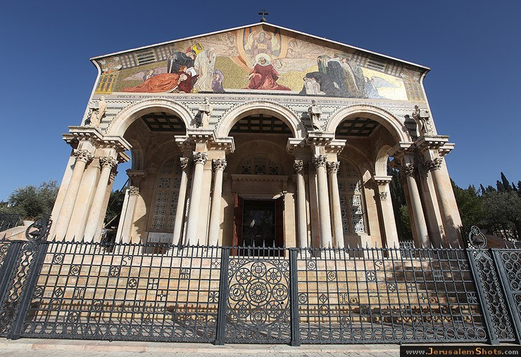 Suspected 'Price Tag' settlers desecrate church in Jerusalem