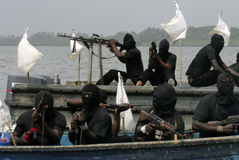 Lagos police arrest pirate gang member attacking oil vessel