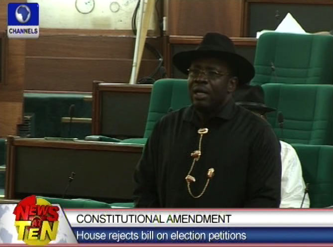Bill to Amend Election Petition rejected by House of Reps.