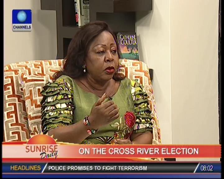 I did not vote for Imoke – Senator Ita-Giwa