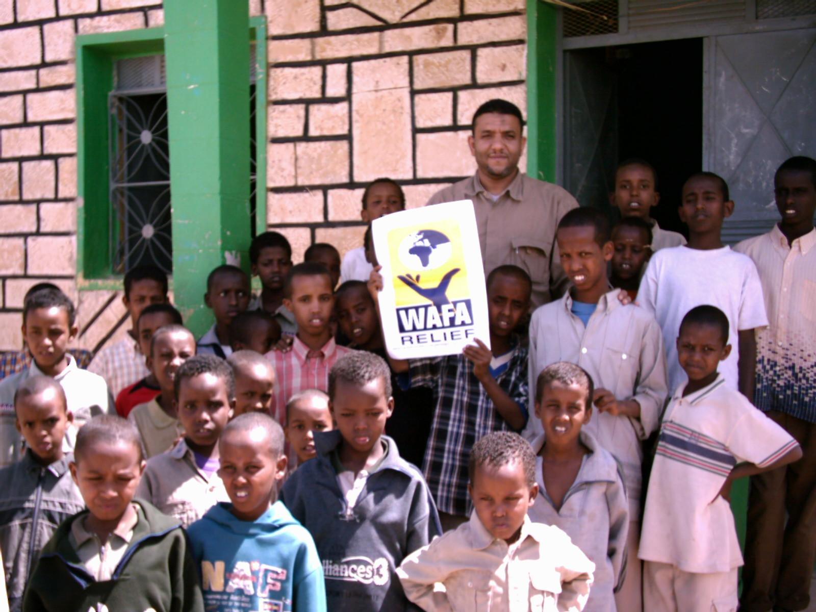 Somalia's war orphans educated for free.