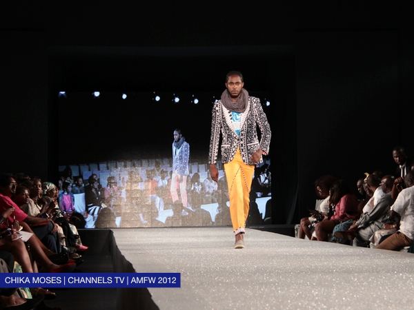 """Day 1: Kenya's Kaveke introduces """"African King Swagger"""" at the Arise Magazine Fashion Week"""