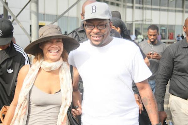 Bobby Brown visits Lagos