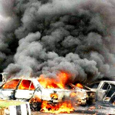 Car bomb explodes during military raid on Boko Haram's hideout in Kano