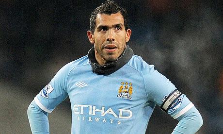 Tevez inspires City to win as Chelsea, Liverpool and Tottenham slip
