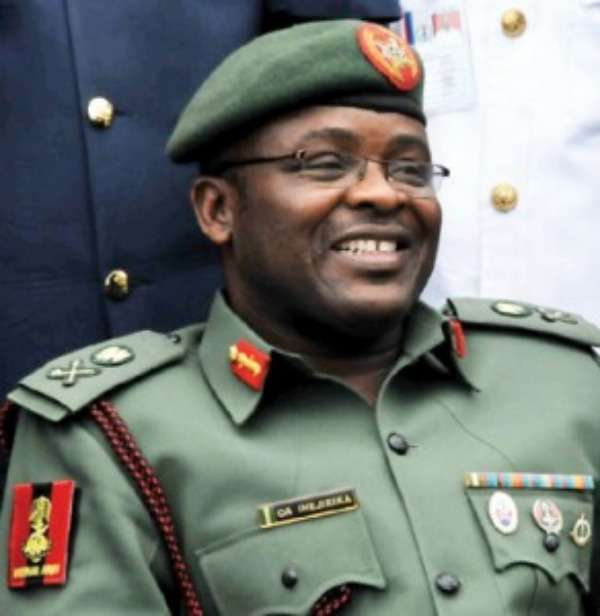 Army  Chief Charges Civilians On Tackling Security Challenges