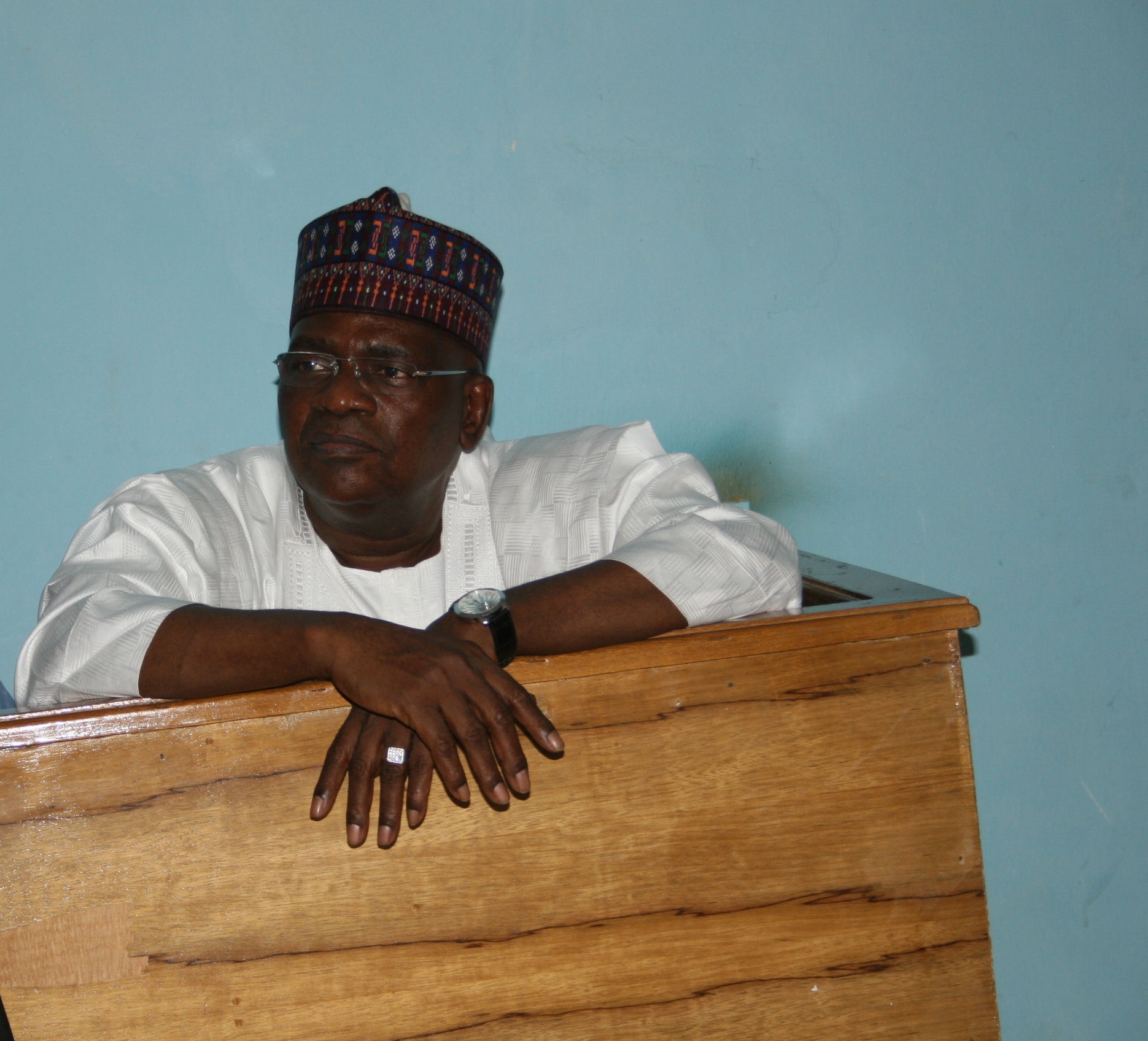 Danjuman Goje in the dock
