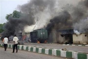 Gunmen attack Police station in Kano