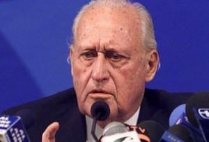 Former FIFA president Joao Havelange hospitalised