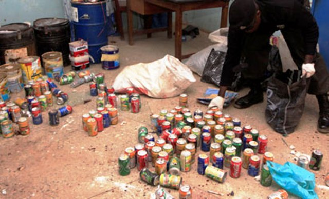 JTF uncovers bomb factories in Adamawa as Mubi gets 24-hours curfew