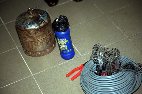 JTF uncovers bomb factory in Kogi