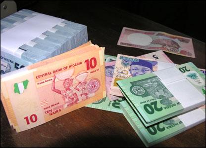 Naira gains against the dollar