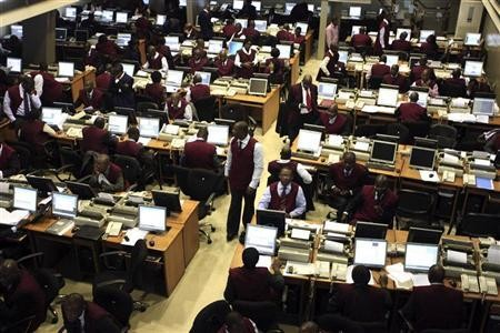 Stock Index records a year high
