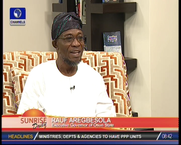 State of Osun is constitutional – Rauf Aregbesola