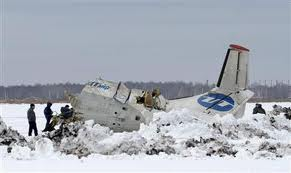 Russian plane crash kills 31