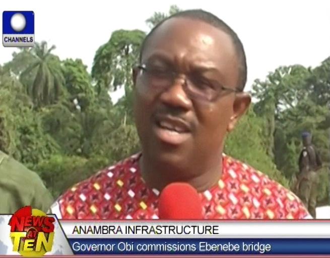 Governor Obi commissions Ebenebe bridge