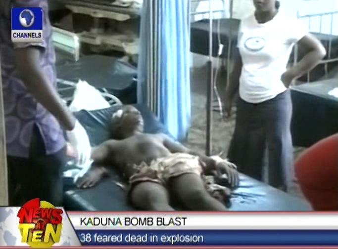 38 feared dead in Kaduna car blast