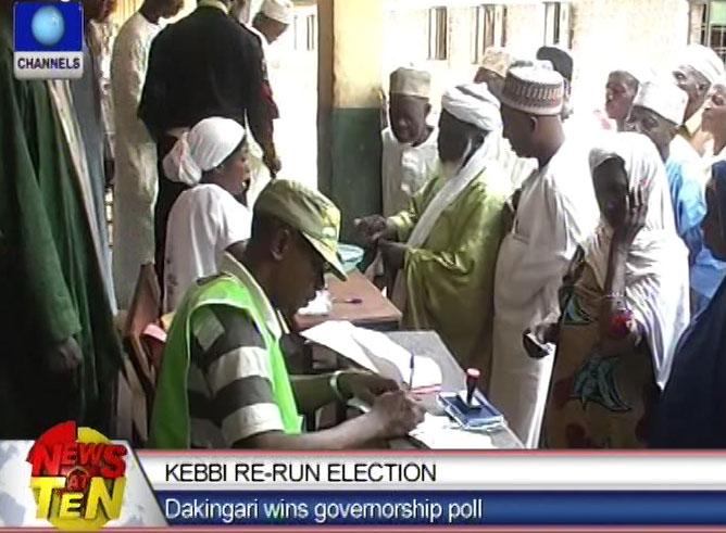 Kebbi Re-Run Election:Dakingari wins governorship poll