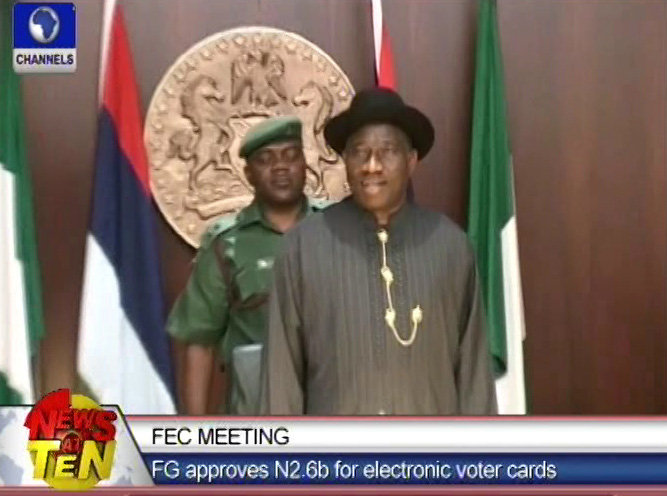 FG approves N2.6 billion for printing of voters' cards