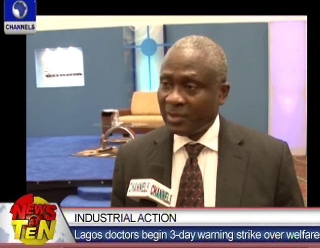 Lagos doctors begin 3-day warning strike over welfare