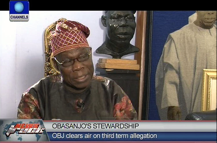 Third term was initiated by National Assembly not me – Obasanjo