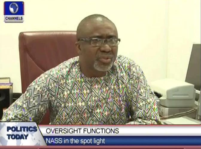 Oversight Functions:NASS in the spot light
