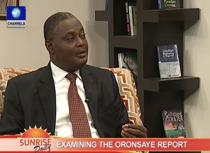 Recommendations of the Oronsaye Cmmttee' Report a good one- Chima Nnaji