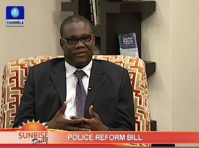 Police Reform Bill a welcome development- Innocent Chukwuma