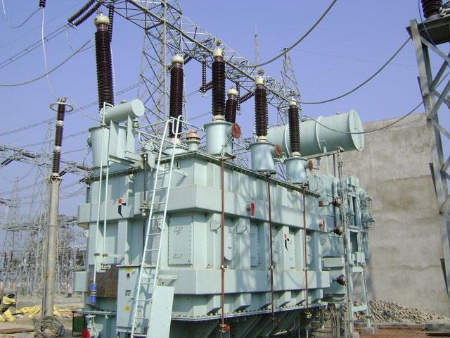 Four arrested over power plant vandalisation