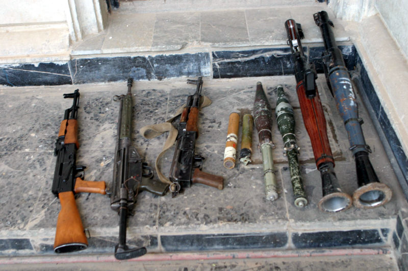 Experts call for regulation of small arms trade