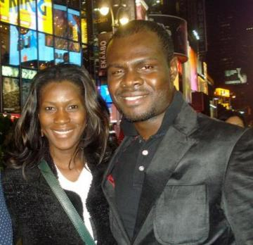 Stephanie Okereke charters Arik air for wedding in France