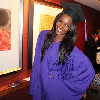 Agbani graduates from New York University