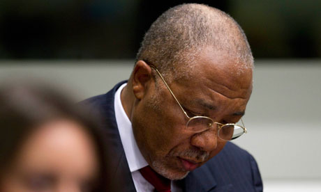 Judges sentence Charles Taylor to 50 years imprisonment