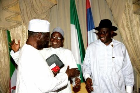 Jonathan meets Edo PDP leaders over July polls