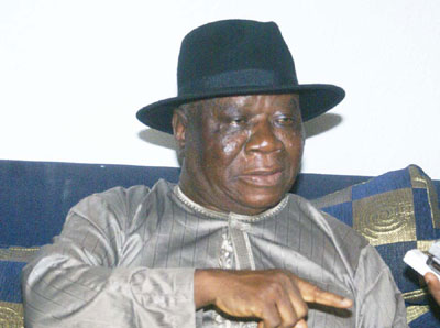 Edwin Clark challenges IBB to take a stand on Boko Haram