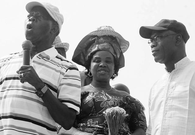 Oshiomole takes campaign to Anenih's land