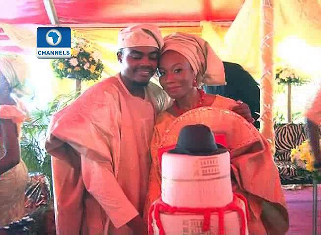 Oyomevotu Obada and Olamidotun Awosedo say 'I do'