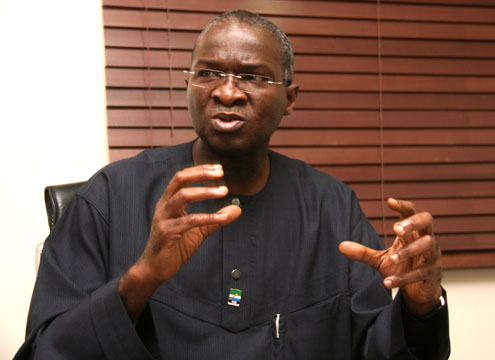 Stay in your village if you can't obey our traffic law – Fashola