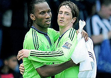 Drogba tags Torres 'The Future' of Chelsea