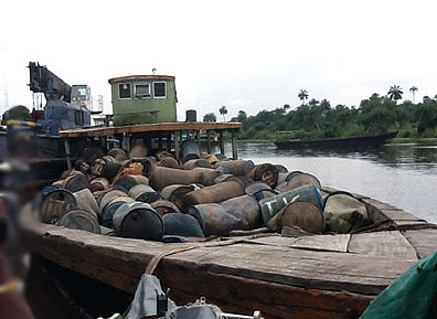 JTF arrests six oil thieves in Bayelsa