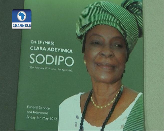 Burial ceremony of Clara adeyinka Shodipo