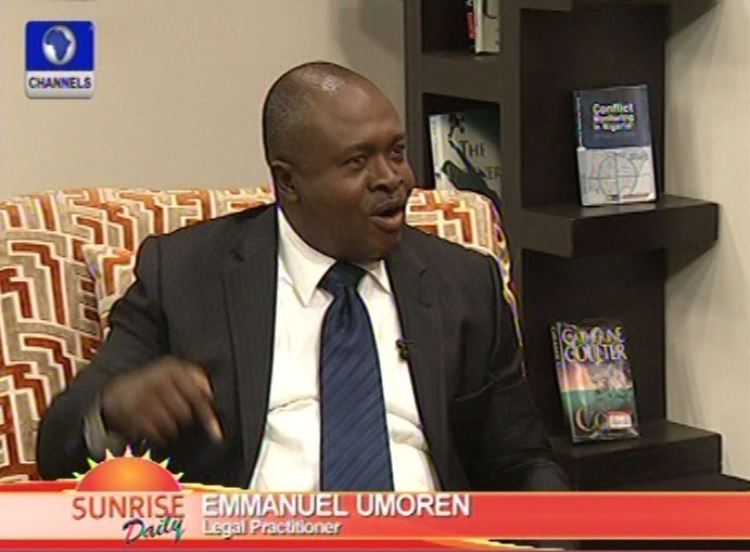 Salami's Recall:Approach is political than Legal – Emmanuel umoren