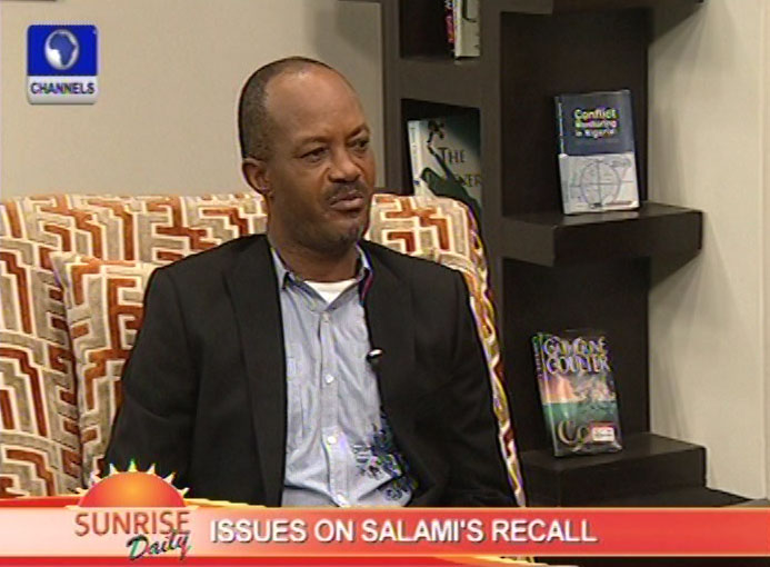 Reinstating Salami does not violate court process – Ejilibe