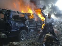 Iraq market blasts: 14 die,100 injure