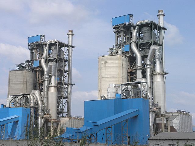 World Larest S Cement Plant : Dangote opens africa s biggest cement plant
